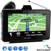 GPS Automotivo Multilaser Tracker Tv Digital 4.3 Polegadas