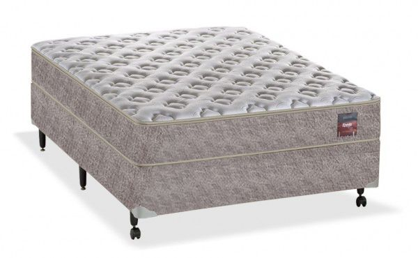 Conjunto Box Modelo Pocket Epeda Sleep Casal 1,38 x 1,88