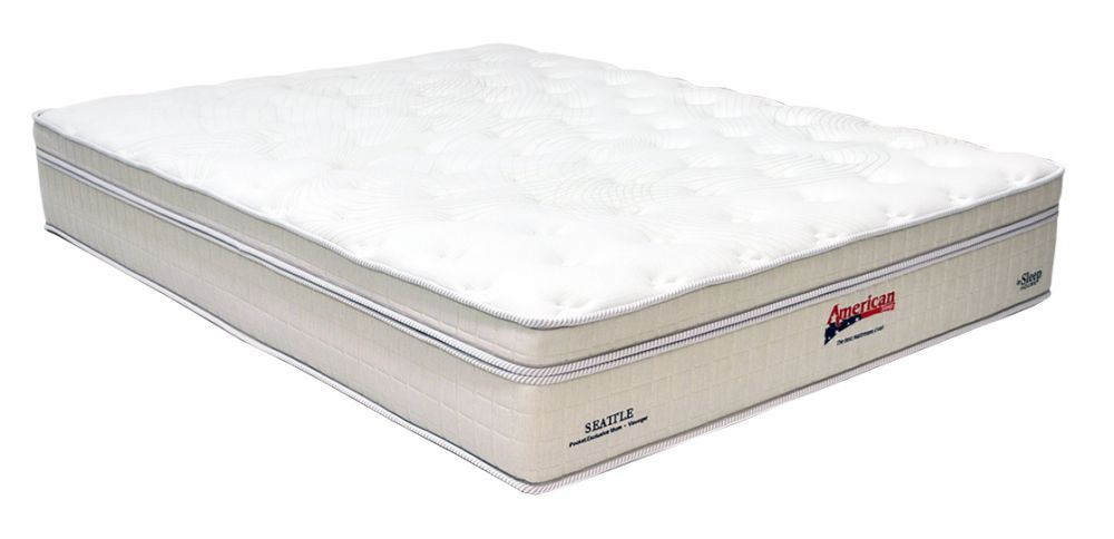 Colchão American Sleep Modelo Seattle King Size 1,93 x 2,03