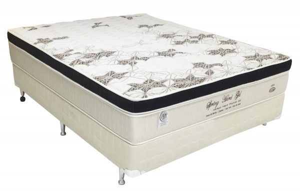 Cama Box Englander Hard Gel 138x188x28cm