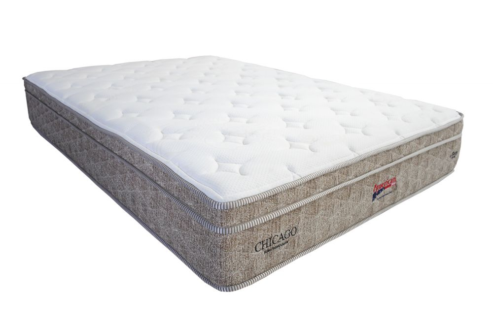 Colchão American Sleep Modelo Chicago Queen Size 1,58 x 1,98