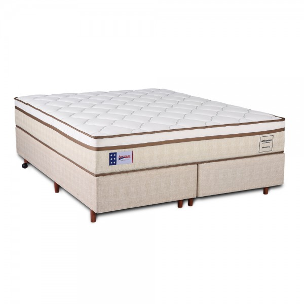 Conjunto Box American Sleep Modelo Arkansas King 1,93x2,03  - foto principal 1