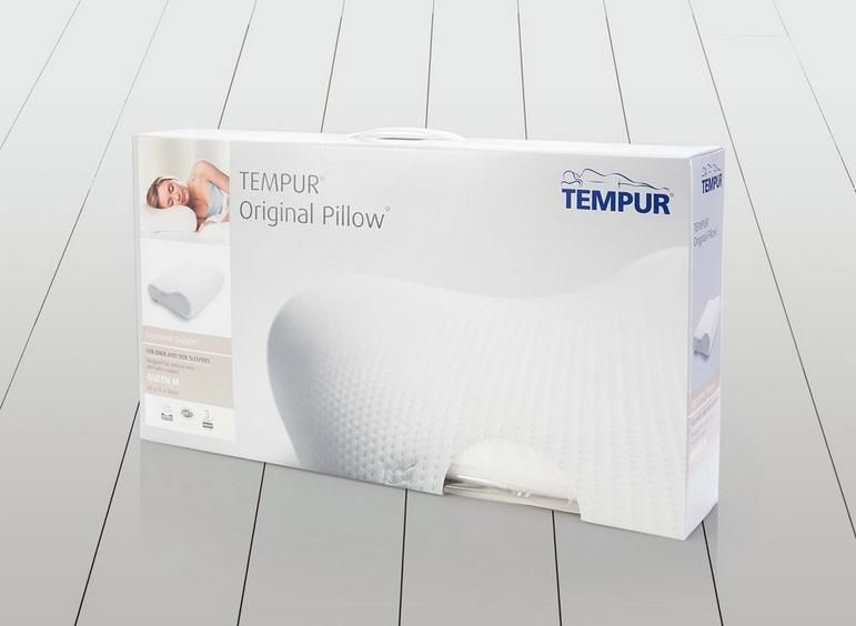 Travesseiro Tempur® Original Pillow Queen M 61x31x10/17cm