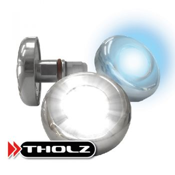 Refletor Power LED RGB 9,0w INOX Tholz