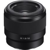 Lente Sony FE 50mm f/1.8 E-Mount Full Frame - SEL50F18F