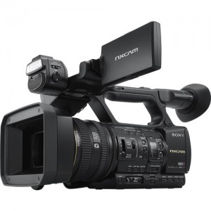 FILMADORA SONY HXR-NX5R NXCAM COM LED LIGHT