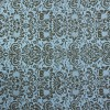 Papel Scrap Arabesco 02 - Cor: Azul - 180g