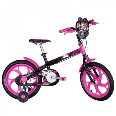 BICICLETA ARO 16 CALOI MONSTER HIGH