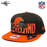 Boné NEW ERA SnapBack  CLEVELAND BROWNS