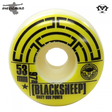 Roda Street 53mm  BLACK SHEEP  - foto principal 1