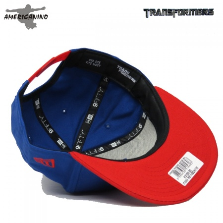 Boné NEW ERA SnapBack TRANSFORMERS OPTIMUS  - foto principal 1