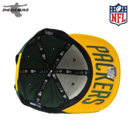 Boné NEW ERA SnapBack  GREEN BAY PACKERS  - foto principal 1