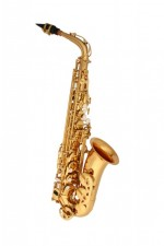 Sax Alto Winner Dourado C/ Case ABS
