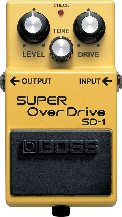 Pedal Boss SD1 Overdrive