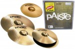 Kit Prato Paiste 201 Bronze Universal Set + Splash 10