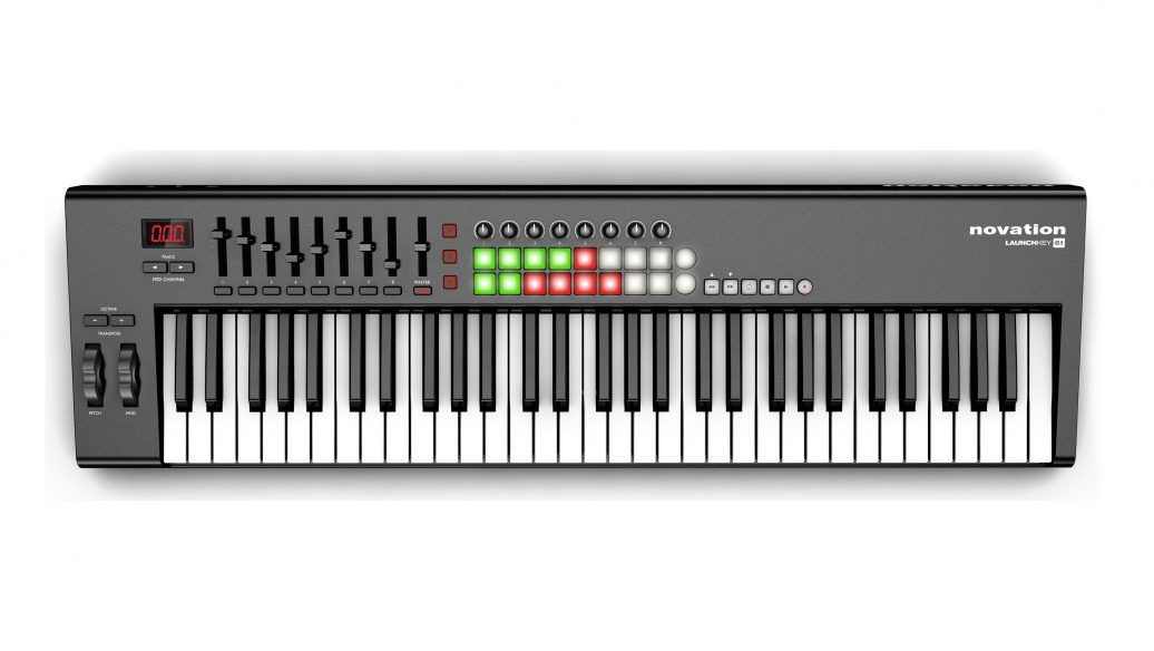 Controlador Novation Launchkey61