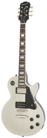 Guitarra Epiphone Les Paul Standard Tommy Thayer Spaceman L Silver Flake