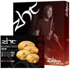 Kit Pratos Zildjian ZHT Rock ZHTR4P-9 14HH + 16 Crash + 18 Crash + 20 Ride