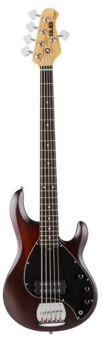 Contra Baixo Music Man Sterling Ray 5 Sub Walnut Satin