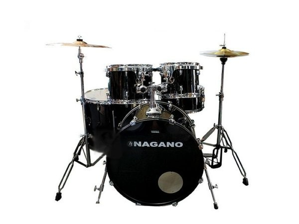 Bateria Nagano Garage Rock 22 Ebony Sparkle By Tagima