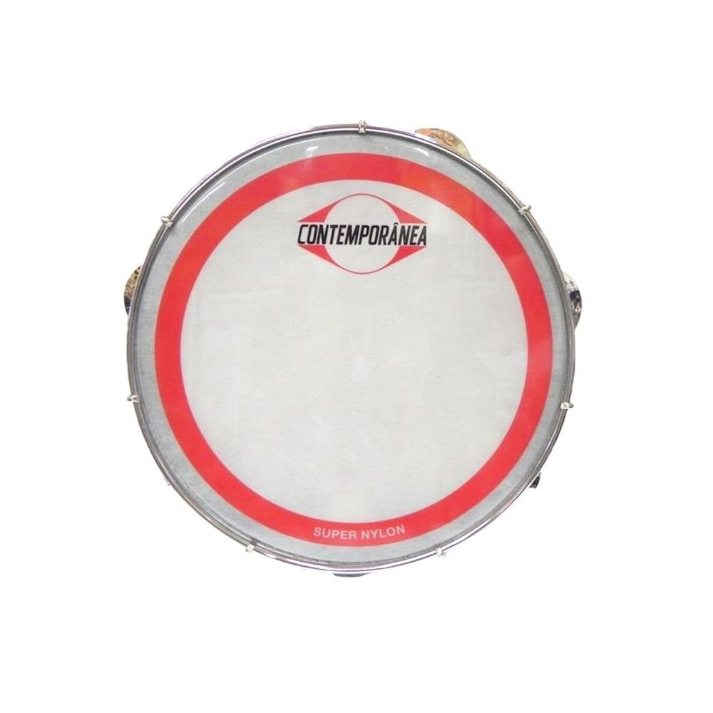 Pandeiro Contemporânea 10'' Super Nylon 30CT
