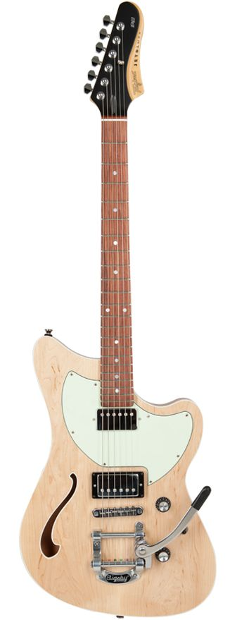 Guitarra Tagima Jet Blues Deluxe NS E/MG Natural Satin Série Brasil