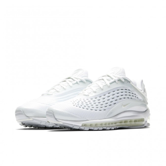 AIR MAX DELUXE TRIPLE WHITE  - foto principal 1