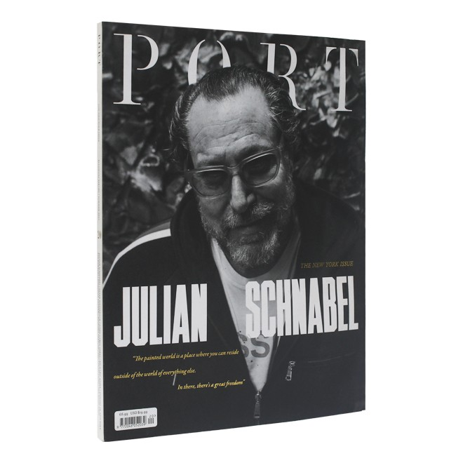 REVISTA PORT THE NEW YORK ISSUE JULIAN SCHNABEL  - foto principal 1