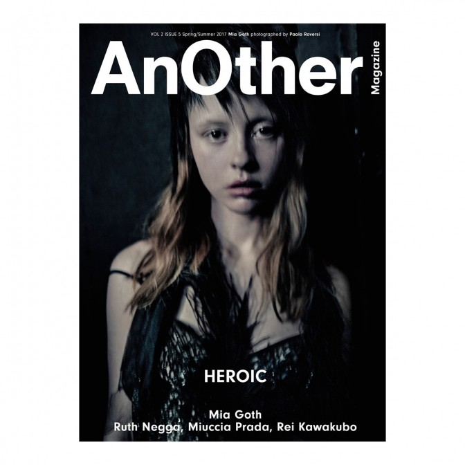 REVISTA AnOther VOLUME 2 ISSUE 5 Spring/Summer 2017  - foto principal 1