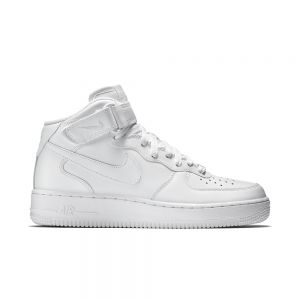 Tênis Nike Air Force mid '07 - Withe & White