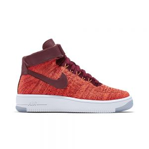 TÊNIS NIKE AIR FORCE 1 FLYKNIT MID RED