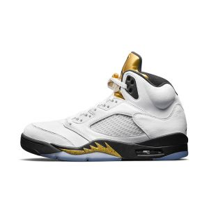 Nike Air Jordan 5 Retro Gold Tongue Olympic