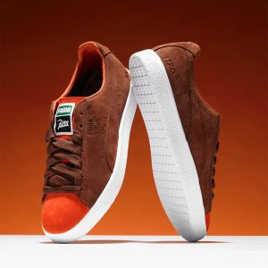 Tênis Puma Clyde x Patta ''vibr orange''