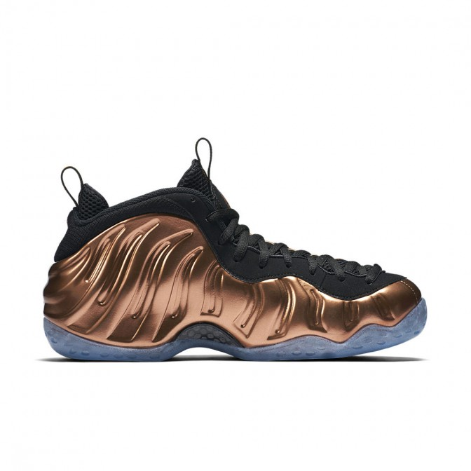 TÊNIS NIKE AIR FOAMPOSITE ONE ''Metallic Copper''  - foto principal 1