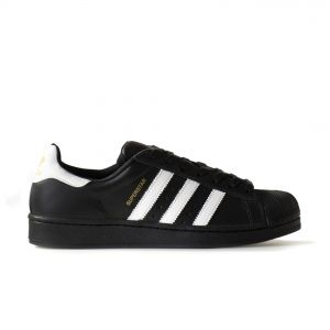 Tênis Adidas Superstar Foundation Black and White