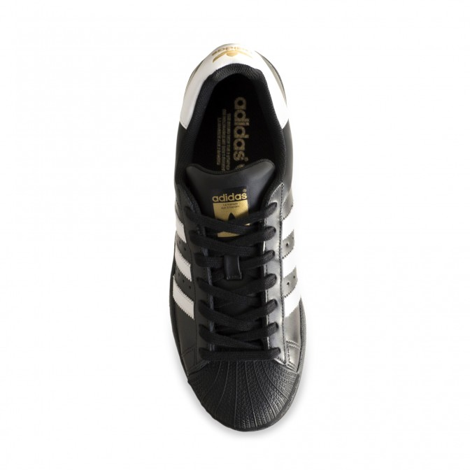Tênis Adidas Superstar Foundation Black and White  - foto principal 1