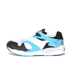 TÊNIS PUMA TTRINOMIC XS 850 PLUS WHITE BLACK SCUBA BLUE