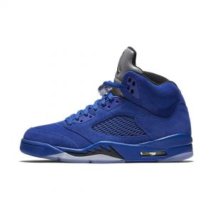 AIR JORDAN 5 RETRO FLIGHT SUIT 'BLUE SUEDE'