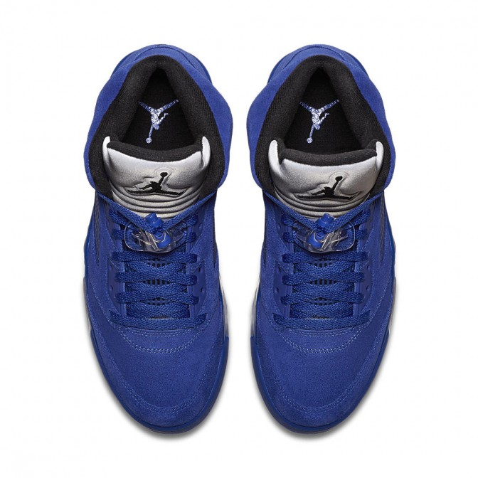 AIR JORDAN 5 RETRO FLIGHT SUIT 'BLUE SUEDE'  - foto principal 1