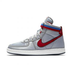 TÊNIS NIKE VANDAL HIGH METALLIC SILVER UNIVERSITY RED