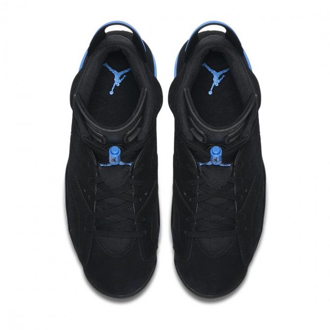Tênis Air Jordan 6 Retro BLACK/UNIVERSITY BLUE  - foto principal 1