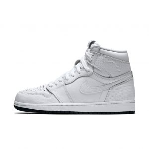AJ 1 RETRO WHITE 'PERFORATED'