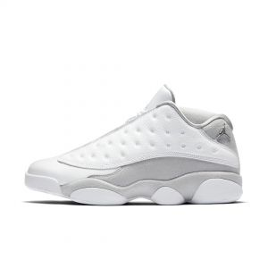 AJ XIII LOW 'PURE PLATINUM'