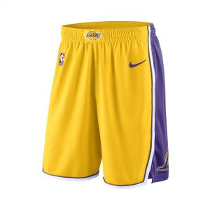 SHORTS LOS ANGELES LAKERS SWINGMAN