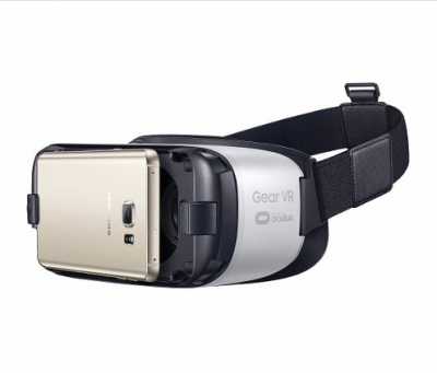 Óculos 3d Samsung Gear Vr - Virtual Reality Headset