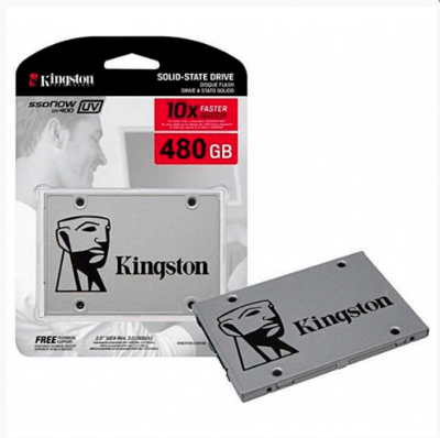 HD SSD Kingston SATA III + UV400 Series 480GB