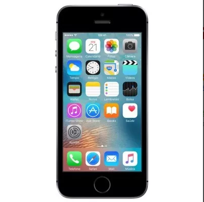 Apple Iphone Se 16gb Cinza Espacial