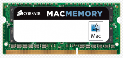 Memoria Corsair 4GB Mac Memory Ddr3 para Imac, Mac Book Pro e Mac Mini