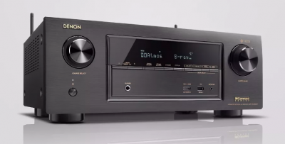 Receiver Denon AVR-X2400H 7.2 4K Ultra HD HEOS built-in.