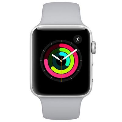 Apple Watch Série 3 42mm  A1859 - Prata  - foto 2